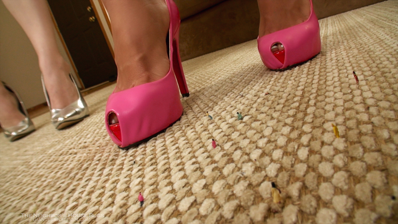 Giantess high heels